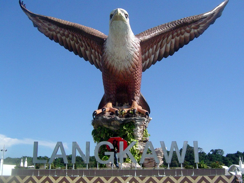 The famous icon of Langkawi